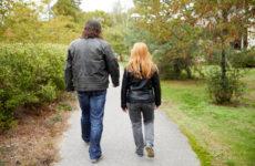 Kontaktpersoner till en äldre man med Downs syndrom